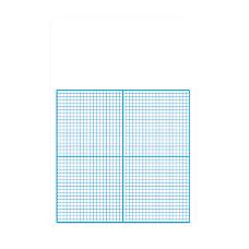 Flipside 14 Graph Dry Erase Board