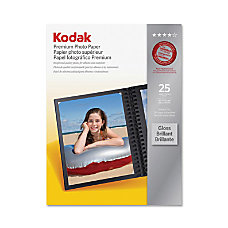 Kodak Premium Photo Paper Letter 850