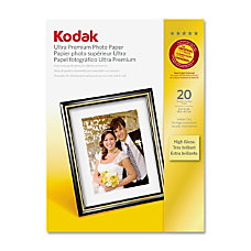 Kodak Ultra Premium Photo Paper 4