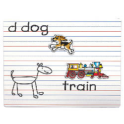 Playmonster Lined Magnetic Dry Erase Boards