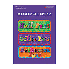 Dowling Magnets Magnetic Hall Pass Sets