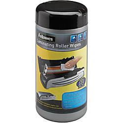 Fellowes Laminating Roller Wipes 50 pk