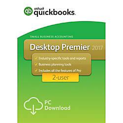 QuickBooks Desktop Premier 2017 2 User