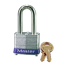 Master Lock Long Shackle Padlock Steel