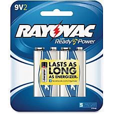 Rayovac A1604 2F Alkaline 9 Volt