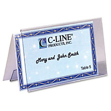 C Line Tent Card For Laser