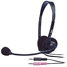 Cyber Acoustics AC 200b Stereo Headset