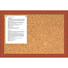 Amanti Art Rustic Cork Bulletin Board
