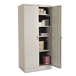 Tennsco Deluxe Steel Storage Cabinet 4