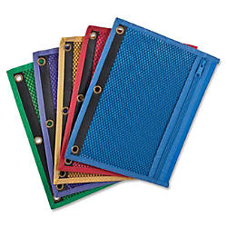Oxford Zipper Binder Pockets 7 12