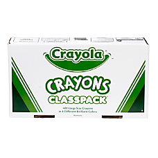 Crayola Classpack Large Crayons 8 Assorted