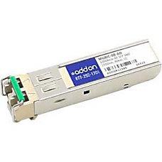 AddOn Enterasys MGBIC 08 Compatible TAA