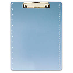 OIC Low profile Clip Acrylic Clipboard