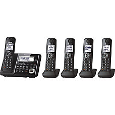 Panasonic Link2Cell KX TGF345B Cordless Phone