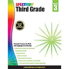 Spectrum Workbook Grade 3