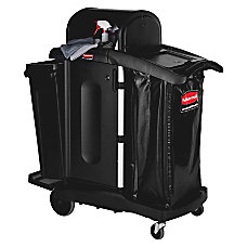 Rubbermaid High Security Executive Janitorial Cart
