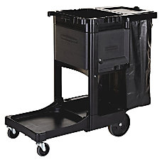 Rubbermaid Executive Janitorial Cart 22 12