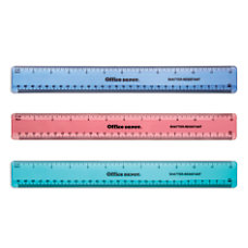 Office Depot Brand Plastic Ruler 12
