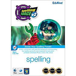 Spelling Force v2 Mac Download Version