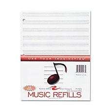 Roaring Spring Music Filler Paper 20