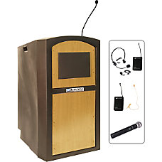 AmpliVox SW3250 Wireless Pinnacle Multimedia Lectern