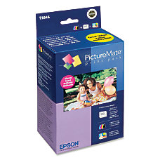 Epson T5846 PictureMate Glossy Print Pack