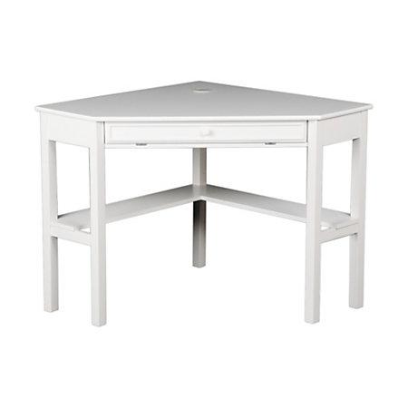 sei corner computer desk 30 h x 48 w x 32 14 d white by office depot