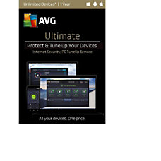 AVG Ultimate 2017 Unlimited 1 Year