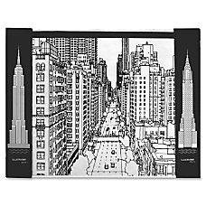 Aurora Illustrator Jr DeskPad Cityscape Rectangle