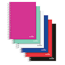Office Depot Brand Poly Cover Spiral