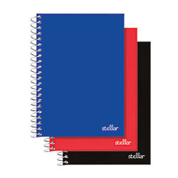 Office Depot Brand Spiral Poly Notebook
