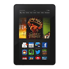 Amazon Kindle Fire HDX With 7
