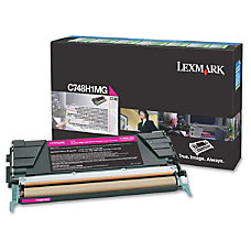 Lexmark Toner Cartridge Laser High Yield