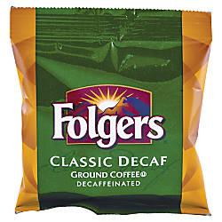 Folgers Decaffeinated Classic Roast Coffee Decaffeinated