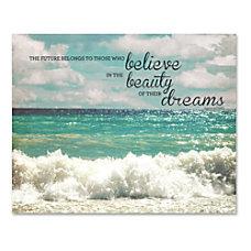 Advantus Believe Motivational Canvas Print Motivation