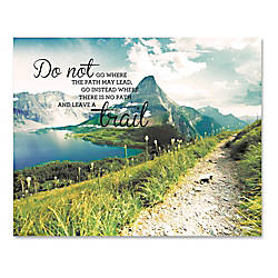 Advantus Leave A Trail Motivational Canvas