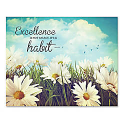 Advantus Excellence Motivational Canvas Print 28