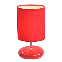 Simple Designs Stonies Bedside Table Lamp