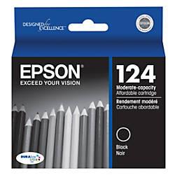Epson 124 T124120 DuraBrite Ultra Black