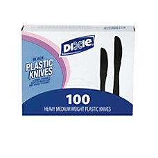 Dixie MediumHeavyweight Utensils Knives Black Box