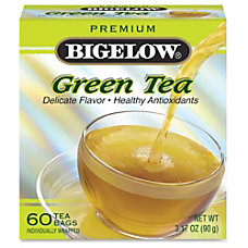 Bigelow Premium Blend Green Tea Green