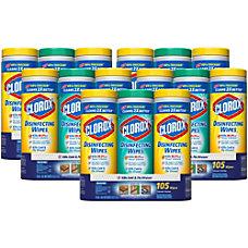 Clorox Premoistened Disinfecting Wipes Wipe 35