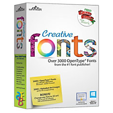 Creative Fonts Download Version