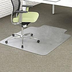 deflecto EnvironMat Recycled Chairmat Carpet 60