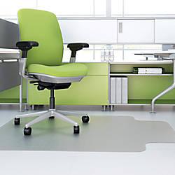 deflecto Hard Floor EnvironMat Recycled Chairmat