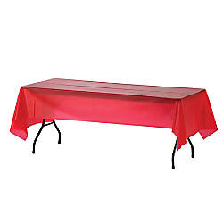 Genuine Joe Plastic Table Covers 54
