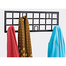 Safco Grid Coat Rack 5 Hook