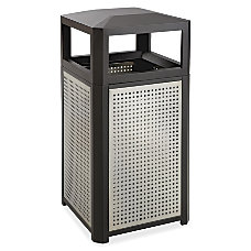 Safco Evos Series Steel Waste Receptacle