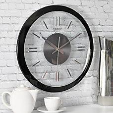 FirsTime Modish Gunmetal Wall Clock 14