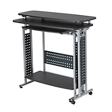 Safco Scoot Standing Height Desk With